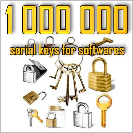Сборник серийных номеров и ключей для большинства программ.